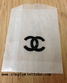 b6ff960592aa CoCo Chanel Inspired Logo Kraft Candy Bags for all Occasions Weddings,  Sweet Sixteen, Birthday Sold in Sets of 20