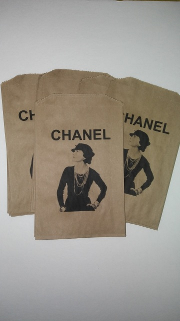 53e47f1e1350 CoCo Chanel Inspired Tote Bags and Kraft Bags for all occasions
