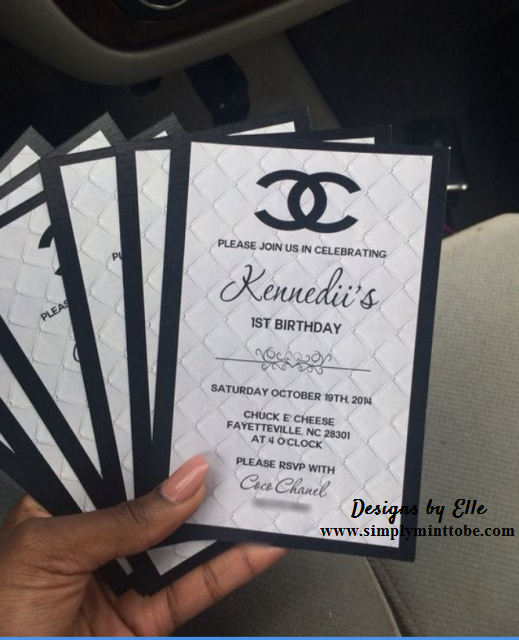 Chanel Invitations Rsvp And Thank You Cards For All Occasions