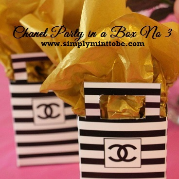 b65d07570976 CoCo Chanel Party in a Box 3 Water Labels, 2 inch Labels, Chanel Candy  Wrappers, Tote Bags and 20x30 Welcome Sign Great for all occasions  weddings, ...