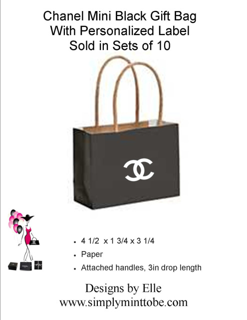 b0c8a2e86b5b8b On Sale. On Sale. Coco Chanel Parisian Inspired Black Mini Purse Tote Bags  with CC Logo Great for all occassions